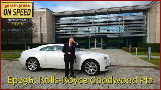 Rolls Royce At Goodwood