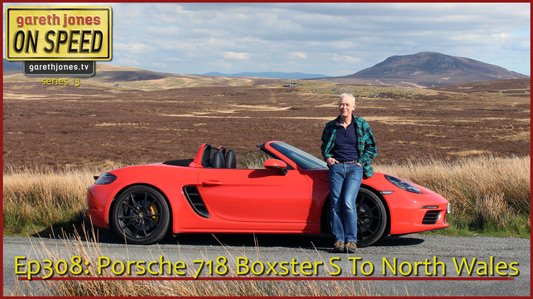 Porsche Boxster in North Wales
