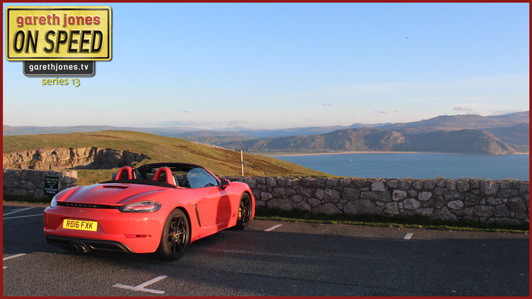 Boxster on Y Gogarth