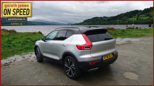 XC40 at Llyn Tegid