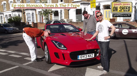 Zog Gareth Richard & an F-Type
