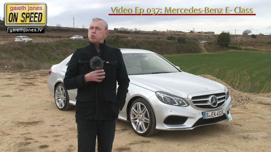 Gareth Jones Mercedes E-Class