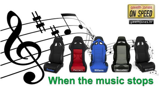 Musical F1 Chairs