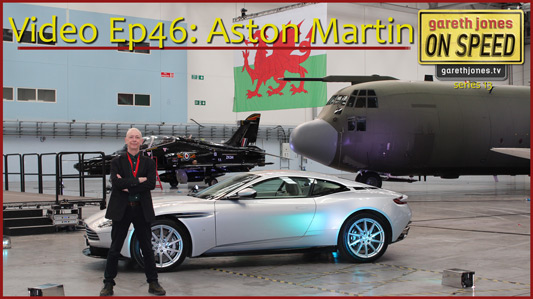Gareth Jones at Aston Martin St Athan