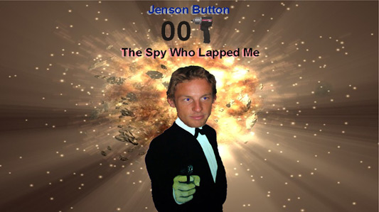 the name's Button, Jenson Button